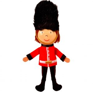 Royal Guard Finger Puppet-NEW