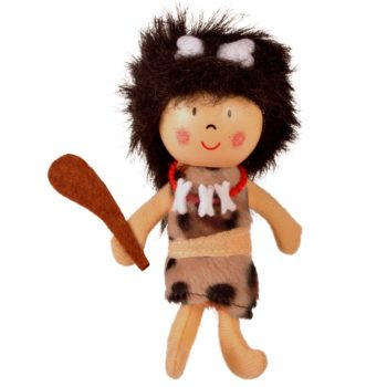 Cavewoman Finger Puppet- NEW