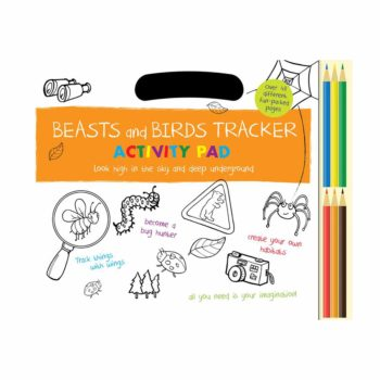 Beasts and Birds Tracker Activity Pad