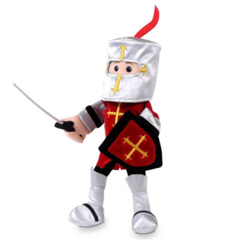 Red Knight Hand Puppet – NEW