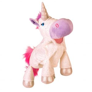 Unicorn Moving Mouth Hand Puppet