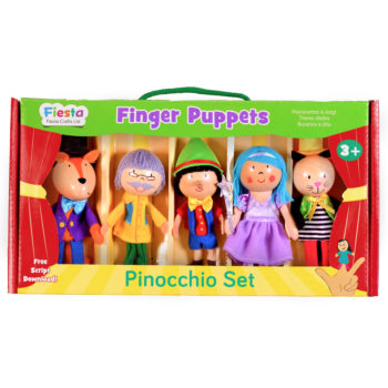 Pinocchio Finger Puppet Set ? NEW