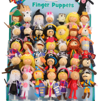 Finger Puppet Display Empty