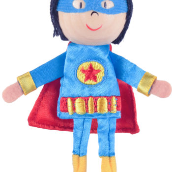Boy Hero Finger Puppet