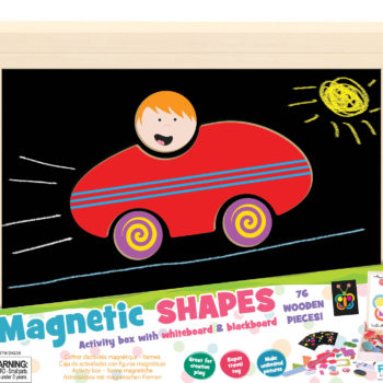 Magnetic Activity Box Shapes