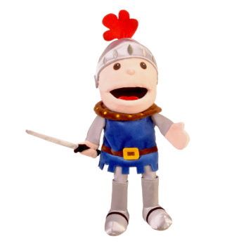 Knight move mouth hand puppet