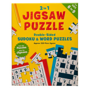 2 in 1 Jigsaw puzzle for Juniors