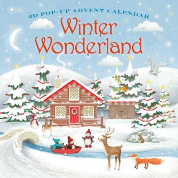 Winter Wonderland 3D advent calendar