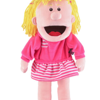 Moving Mouth Girl Hand Puppet