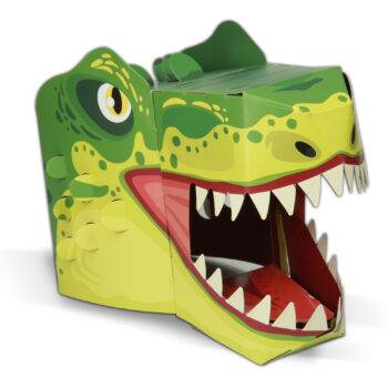 T-Rex 3D Mask Card Craft