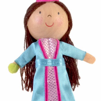 Princess and Pea Finger Puppet