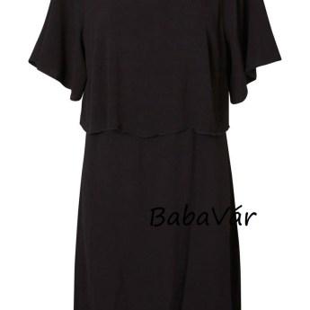 MamaLicious Hannah fekete szoptatós / kismama ruha