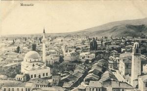 219. Битолскиот Пекмез Пазар, во 1915 година.