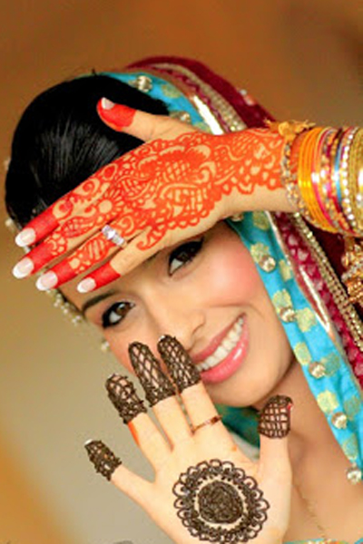 mehndi photography shoot by baba production