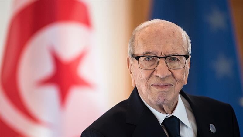 President Beji Caid Essebsi