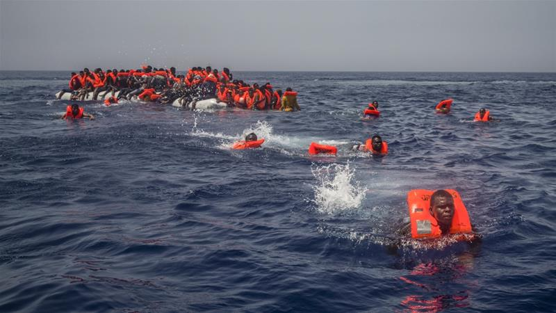 Nearly 700 deaths have been recorded in the Mediterranean so far this year, according to the UN