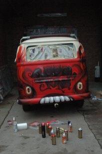 Volkswagen Bulli T2 Iron Sky Film 2010