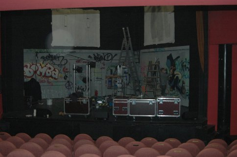 Stage Bühnendesign Bühnenmalerei Hedwig & the angry inch, Neues Theater Höchst 2009