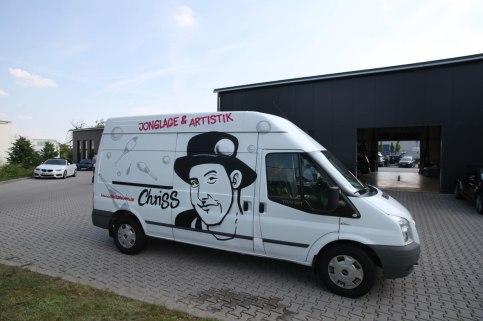 Ford Tansit Jonglage & Artistik Chriss Breuning 2017
