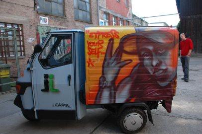 HWB Rapmobil Ape, 2011