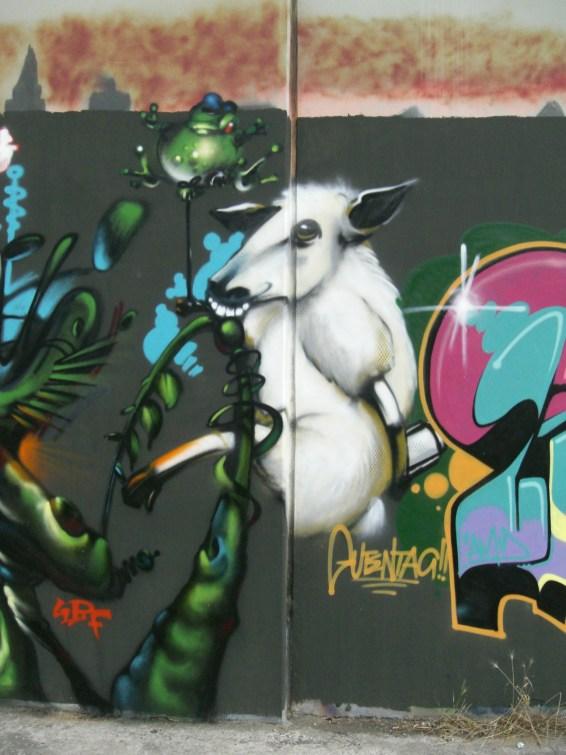 Schaf sheep character Bockenheim 2006