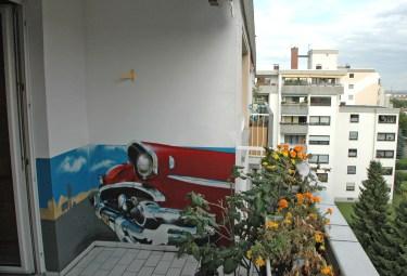 Balkon Privatraum