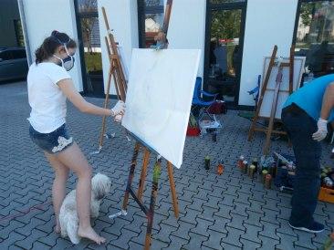 Geburtstags-Graffiti Art Workshop 2017