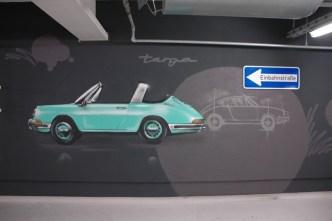 Porsche Targa, Hilton International Airport Frankfurt