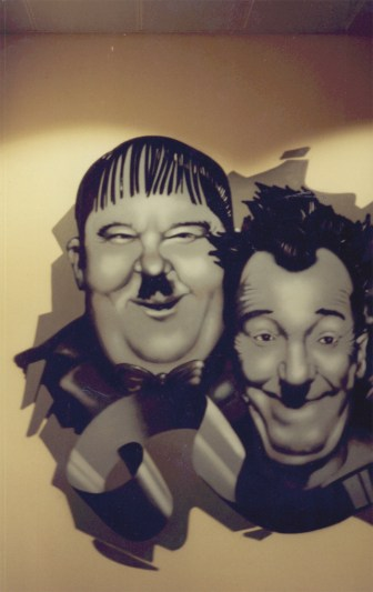 StanLaurel OliverHardy Portraits Kinopolis, Main-Taunus-Zentrum 1994