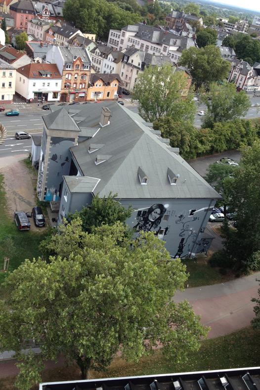 Leunabunker Frankfurt-von oben Höchst 2010