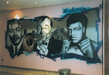 Black Heroes, Sugarhill Bar Frankfurt 1998