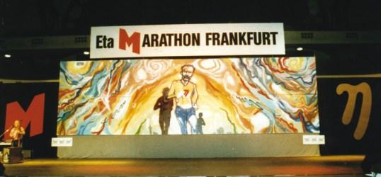 Eta Mararthon Bühnendeko 12 x 4 m 1996, Festhalle Frankfurt