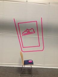 Tape Art bis der Adidas Arzt kommt … ANWR Tape Art