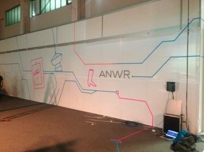 ANWR Tape Art ANWR Tape Art @ ANWR Zukunftsforum 2018