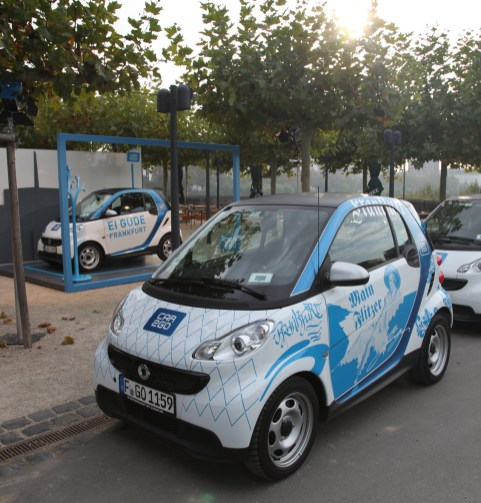Cartattoo Car2Go Bomber Smart bembeltribal 2014