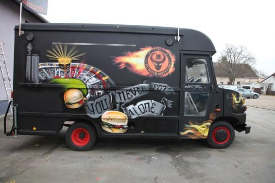 BurgerMeister Foodtruck Black fatty 2014