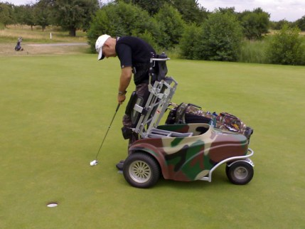 Golf caddy 2009