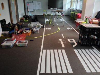 Inno.Hub Fraport 2019: Auswahl Materialien auf Start-Landebahn @ Inno.gate