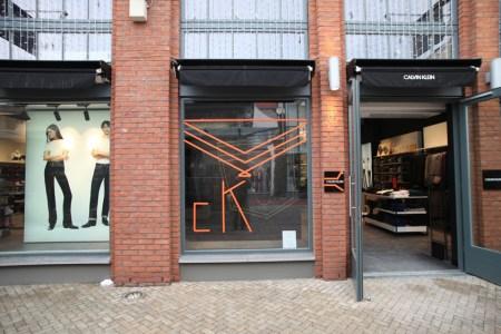 CALVIN KLEIN CK Store Ingolstadt Village Tape Art 2019