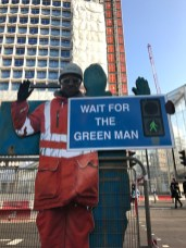 Wait for the green man ;-)