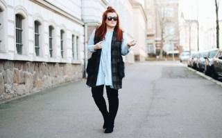Beitragsbild: Outfit Inspiration: So trage ich lange Westen mit Fake Fur - Kunstfell - Fashion Blog aus Leipzig