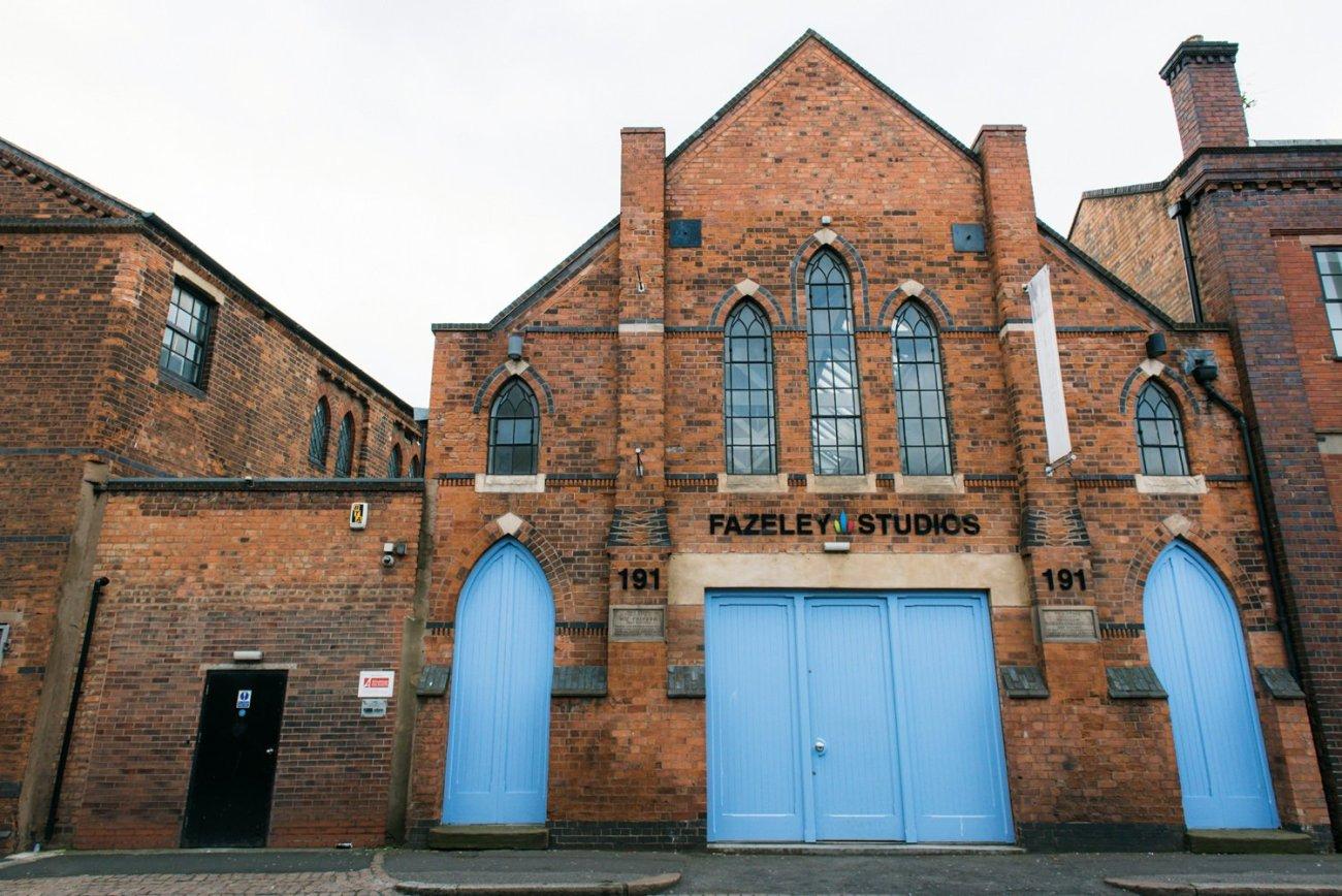 Fazeley Studios Birmingham's Coolest Wedding Venues