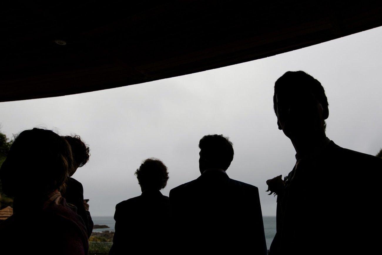 Creative story telling beach wedding photography Devon