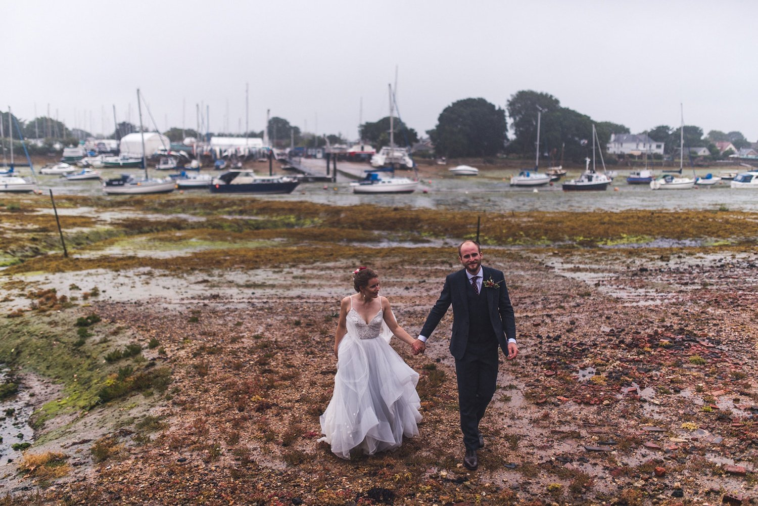 Rainy Tournerbury Woods Estate Wedding