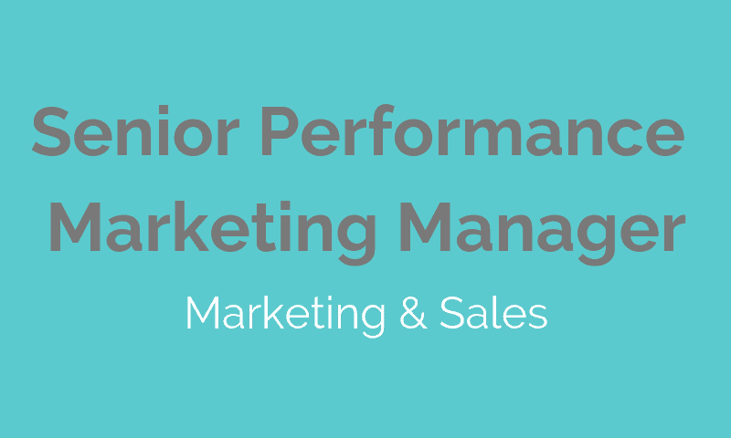 Senior Performance Marketing Manager  babelforce  Jobs