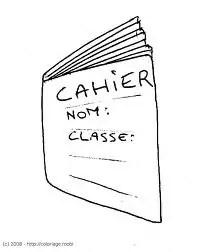 Testez-vous sur ce quiz : Dans mon cartable : le cahier