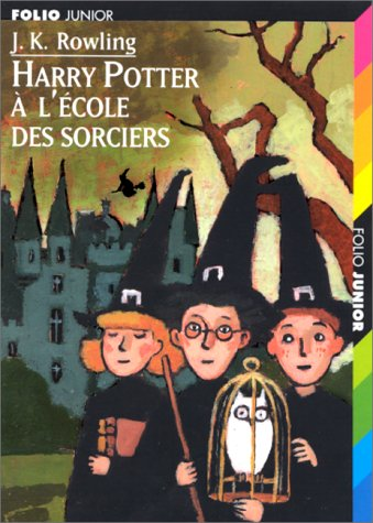 Harry Potter à l'école des sorciers Couverture du livre