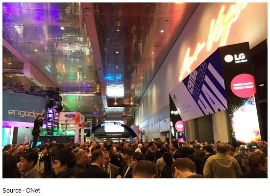 Rush Begins – The 2015 CES was not only the largest worldwide show to date, it was also the most packed by industry executives and media people from around the world.