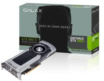 GALAX announces their GTX 980 Ti