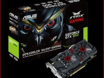 ASUS STRIX GTX 950 DirectCU II OC Performance results with 29 games